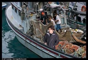 John Mayer on Fishing Boat